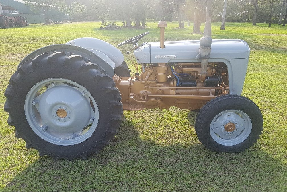 Massey Ferguson 35 4 Cyl Diesel Gold Belly Edition